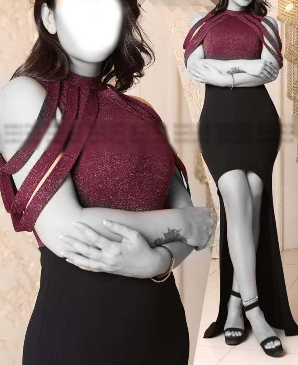 لباس شب نیم تنه دامن سال۲۰۱۷ لباس مجلسی نازلی